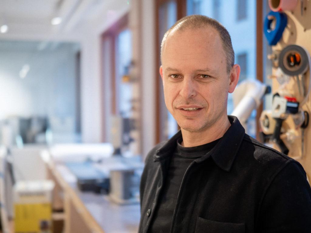 Mattias Lind, ansvarig arkitekt Brick Studios och Våghuset