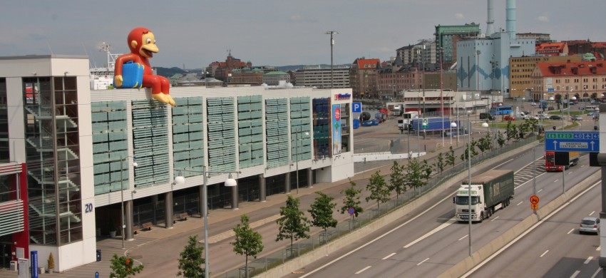 Bild Av Stena Lines Danmarksterminal.